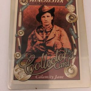 Winchester collections card